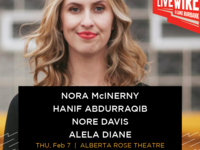 Live Wire w/ Nora McInerny, Hanif Abdurraqib, Nore Davis & Alea Diane