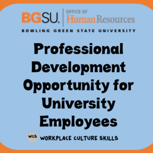 OHR Training Opportunity: Appropriate Workplace Behavior