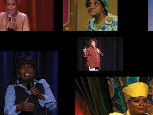 Mickalene Thomas: Do I Look Like a Lady? (Comedians and Singers)