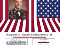 Inaugural CPT Rowdy Inman Memorial 5k