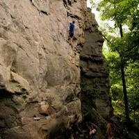 Horseshoe Canyon Rock Climbing