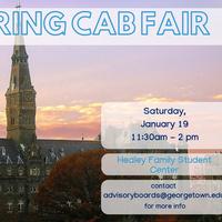 CAB Activities & Organization Fair