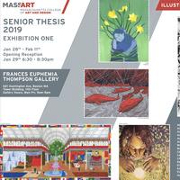 Illustration Senior Thesis Exhibition I Opening Reception
