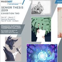 Illustration Senior Thesis Exhibition II Opening Reception