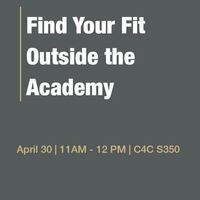 Find Your Fit Outside the Academy