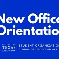 Orientation for New Organization Officers