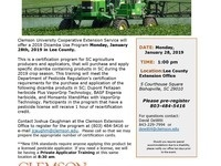 Dicamba Use Program