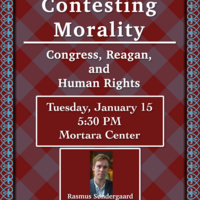 Contesting Morality: Congress, Reagan, and Human Rights