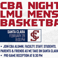 CBA Night at LMU Men's Basketball Game