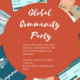 Global Community Culture Night Welcome Back Party