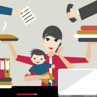 Lunch & Learn: Shredded Cheese and Dry Shampoo: Humor and Hacks of Working Motherhood