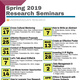 Undergraduate Research Seminar Series: Last Minute Summer Opportunities