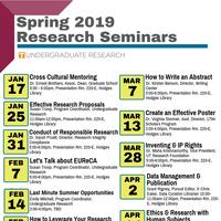 Undergraduate Research Seminar Series: Leverage your Research