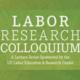 2019 Labor Research Colloquium