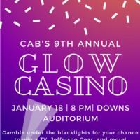 Glow Casino - CAB's 9th Annual Casino Night!