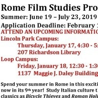 Rome: Film Studies Study Abroad Information Session