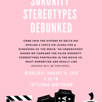 Sorority Stereotypes Debunked