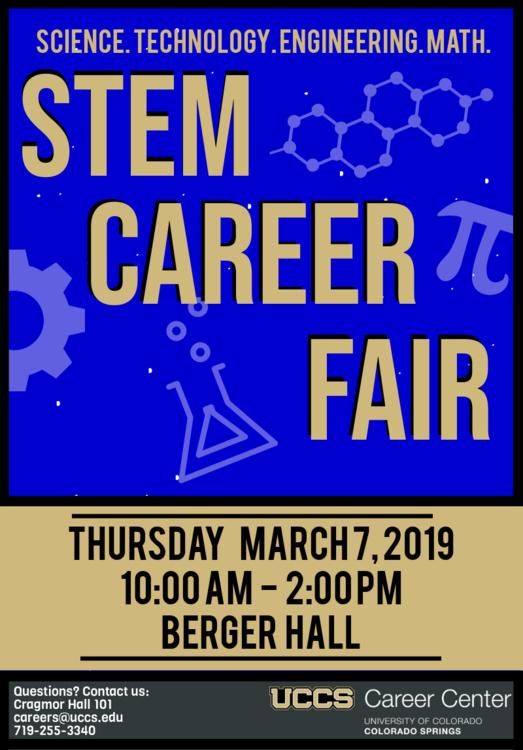 UCCS Spring STEM Career Fair