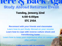 Study Abroad Returnee Event