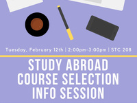 Study Abroad Course Selection Info Session
