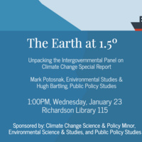The Earth at 1.5°: Unpacking the Intergovernmental Panel on Climate Change Special Report