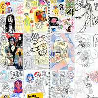 Opening reception for PRAXIS: A Sketchbook Show