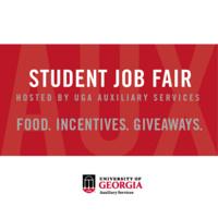 Auxiliary Services Student Job Fair