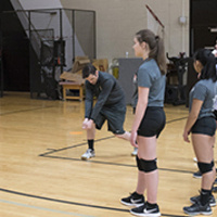 High School Volleyball Clinic - Libero School