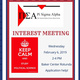 Pi Sigma Alpha Interest Meeting