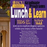 CET Graduate Programs - Lunch and Learn