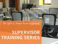 Supervisor Training - Building an Effective Team