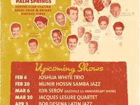 Munir Hossn Quartet (Brazil) at Jazzville Palm Springs