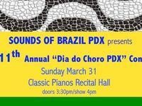 Sounds of Brazil PDX: 11th Annual Dia do Choro Concert
