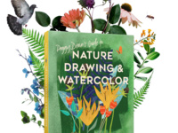 Book Launch: Peggy Dean's Guide to Nature Drawing & Watercolor