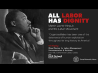 All Labor Has Dignity: Martin Luther King Jr. and the Labor Movement