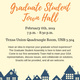 Graduate Student Town Hall