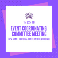 Event Coordinating Committee Meeting