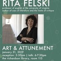 """Art and Attunement,"" Lecture by Rita Felski"