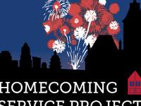 S.E.R.V.E 1 Day: Homecoming Service Project