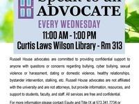 Speak to an Advocate