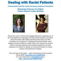Dealing with Racist Patients