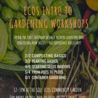 Intro to Gardening Workshop Series