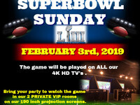 Super Bowl Sunday 2019