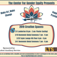 Be Your Own Creation Space With LAD! | Center for Gender Equity