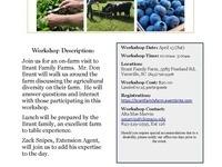 Diversifying the Farm Workshop: Brant Family Farms