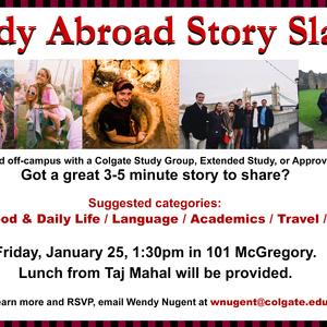 Study Abroad Story Slam