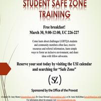 Usi Calendar.Student Safe Zone Training Usi Calendar