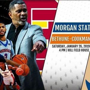 Basketball: Morgan State Bears vs. Bethune-Cookman Wildcats