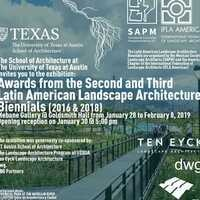Exhibition: Awards from the Second and Third Latin American Landscape Architecture Biennales
