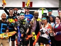 EPIC NERF BATTLE